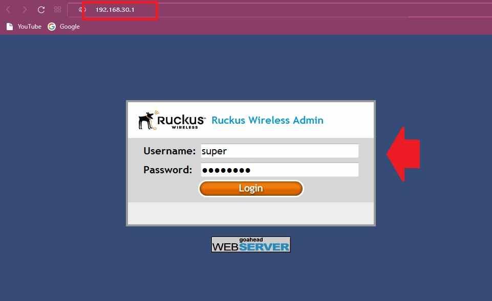 192.168.30.1 Default Router IP Login