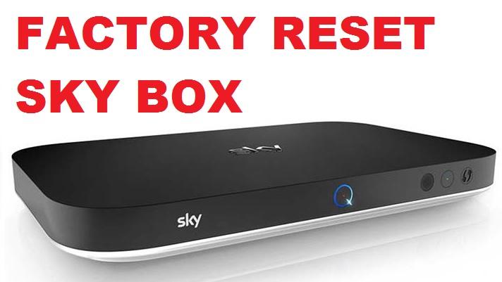 REset sky q box